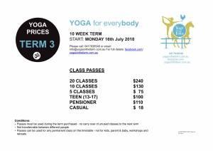 Yoga on the Farm Pricing